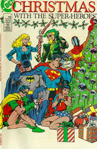 Cover Thumbnail for Christmas with the Super-Heroes (DC, 1988 series) #1 [Direct Sales]