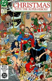 Cover Thumbnail for Christmas with the Super-Heroes (DC, 1988 series) #2 [Direct]