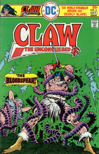 Cover Thumbnail for Claw the Unconquered (DC, 1975 series) #3