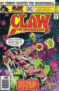 Cover Thumbnail for Claw the Unconquered (DC, 1975 series) #8