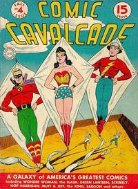 Cover Thumbnail for Comic Cavalcade (DC, 1942 series) #4