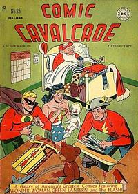 Cover Thumbnail for Comic Cavalcade (DC, 1942 series) #25