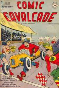 Cover Thumbnail for Comic Cavalcade (DC, 1942 series) #26