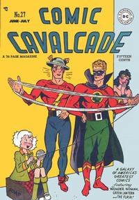Cover Thumbnail for Comic Cavalcade (DC, 1942 series) #27