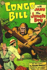 Cover Thumbnail for Congo Bill (DC, 1954 series) #1