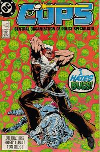 Cover Thumbnail for COPS (DC, 1988 series) #4 [Direct]