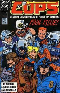 Cover Thumbnail for COPS (DC, 1988 series) #15 [Direct]