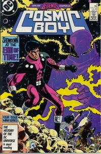 Cover Thumbnail for Cosmic Boy (DC, 1986 series) #4 [Direct]