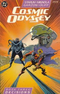 Cover for Cosmic Odyssey (DC, 1988 series) #3