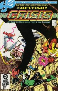 Cover Thumbnail for Crisis on Infinite Earths (DC, 1985 series) #2 [Direct Sales]
