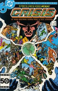 Cover Thumbnail for Crisis on Infinite Earths (DC, 1985 series) #3 [Direct]
