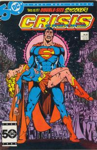Cover Thumbnail for Crisis on Infinite Earths (DC, 1985 series) #7 [Direct Sales]