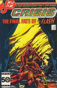 Cover Thumbnail for Crisis on Infinite Earths (DC, 1985 series) #8 [Direct]