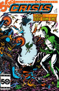 Cover for Crisis on Infinite Earths (DC, 1985 series) #10 [Newsstand]
