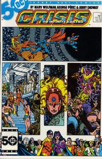 Cover Thumbnail for Crisis on Infinite Earths (DC, 1985 series) #11 [Direct]