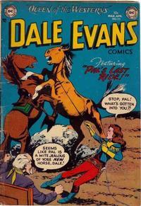 Cover Thumbnail for Dale Evans Comics (DC, 1948 series) #22