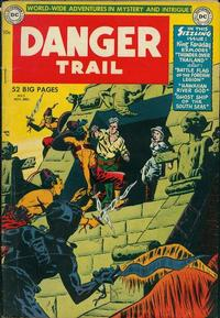 Cover Thumbnail for Danger Trail (DC, 1950 series) #3
