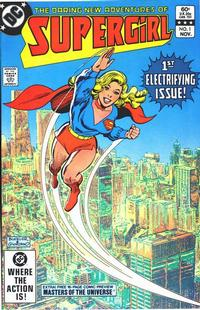 Cover Thumbnail for The Daring New Adventures of Supergirl (DC, 1982 series) #1 [Direct]