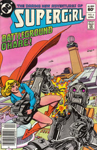 Cover Thumbnail for The Daring New Adventures of Supergirl (DC, 1982 series) #6 [Newsstand]