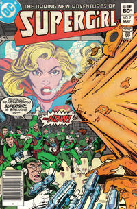 Cover Thumbnail for The Daring New Adventures of Supergirl (DC, 1982 series) #7 [Newsstand]