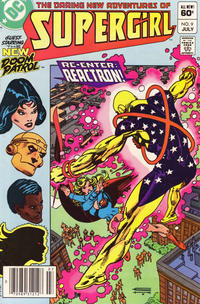 Cover Thumbnail for The Daring New Adventures of Supergirl (DC, 1982 series) #9 [Newsstand]