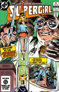 Cover Thumbnail for The Daring New Adventures of Supergirl (DC, 1982 series) #10 [Direct]