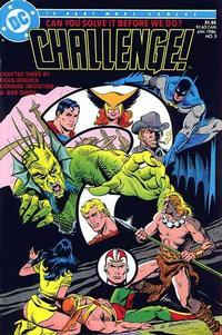 Cover Thumbnail for DC Challenge (DC, 1985 series) #3