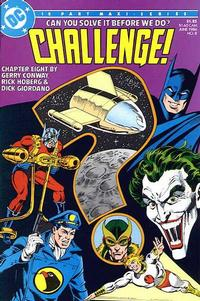 Cover Thumbnail for DC Challenge (DC, 1985 series) #8