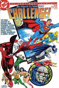 Cover Thumbnail for DC Challenge (DC, 1985 series) #12