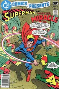 Cover Thumbnail for DC Comics Presents (DC, 1978 series) #12