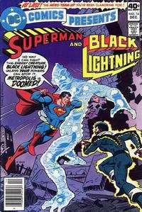 Cover Thumbnail for DC Comics Presents (DC, 1978 series) #16