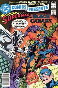 Cover Thumbnail for DC Comics Presents (DC, 1978 series) #30 [Newsstand]