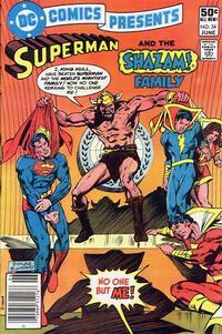 Cover Thumbnail for DC Comics Presents (DC, 1978 series) #34
