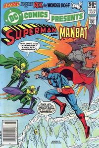 Cover Thumbnail for DC Comics Presents (DC, 1978 series) #35 [Newsstand]