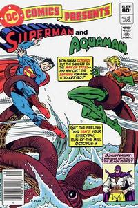 Cover for DC Comics Presents (DC, 1978 series) #48
