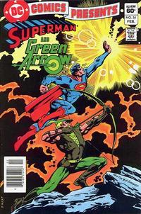 Cover Thumbnail for DC Comics Presents (DC, 1978 series) #54 [Newsstand]