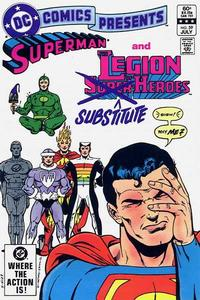 Cover Thumbnail for DC Comics Presents (DC, 1978 series) #59 [Direct]