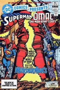 Cover Thumbnail for DC Comics Presents (DC, 1978 series) #61 [Direct]