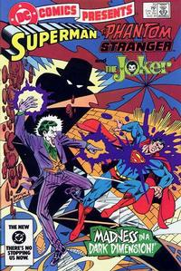 Cover Thumbnail for DC Comics Presents (DC, 1978 series) #72 [Direct]