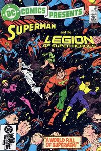 Cover Thumbnail for DC Comics Presents (DC, 1978 series) #80 [Direct Sales]