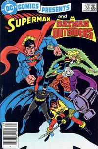 Cover Thumbnail for DC Comics Presents (DC, 1978 series) #83 [Newsstand]