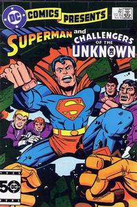 Cover for DC Comics Presents (DC, 1978 series) #84 [Direct Sales]