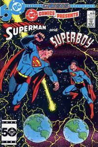 Cover Thumbnail for DC Comics Presents (DC, 1978 series) #87 [Direct]