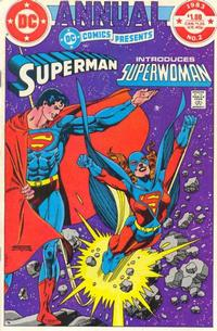 Cover Thumbnail for DC Comics Presents Annual (DC, 1982 series) #2 [Direct]