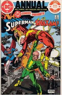 Cover Thumbnail for DC Comics Presents Annual (DC, 1982 series) #3 [Direct]
