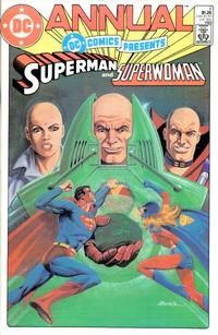 Cover Thumbnail for DC Comics Presents Annual (DC, 1982 series) #4 [Direct Sales]