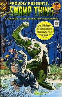 Cover Thumbnail for DC Special Series (DC, 1977 series) #2 - The Original Swamp Thing Saga