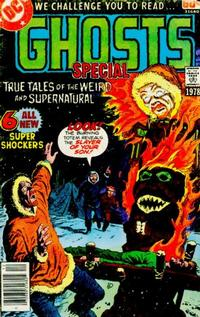 Cover Thumbnail for DC Special Series (DC, 1977 series) #7 - Ghosts Special