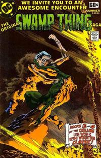 Cover Thumbnail for DC Special Series (DC, 1977 series) #14 - Original Swamp Thing Saga