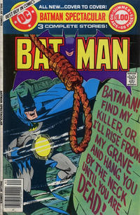 Cover Thumbnail for DC Special Series (DC, 1977 series) #15 - Batman